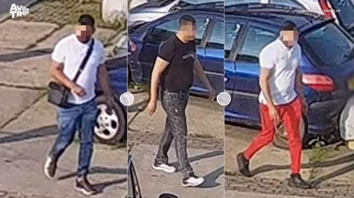 De verdachten die nog gezocht worden in de zaak rond de vergisontvoering.