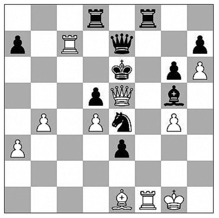 Firouzja-Carlsen (Aimchess rapid, 2021)  Beeld Max Pam