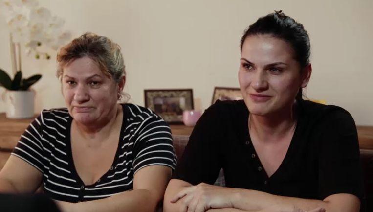 Slachtoffer Safia (55) en haar dochter Denisa deden dinsdagavond hun verhaal via Faroek op vtm.