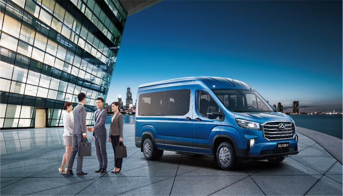 De Maxus E-Deliver 9 komt later dit jaar naar Nederland