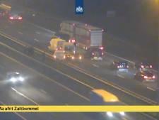 Meerdere auto's betrokken bij ongeluk A2 bij Zaltbommel