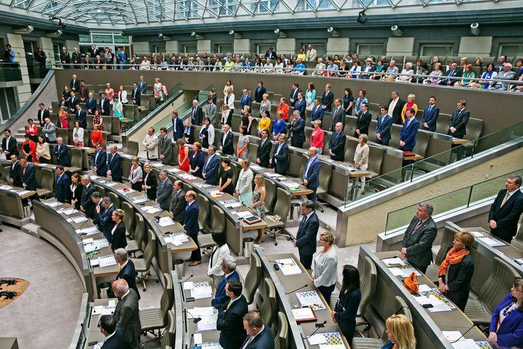Het Vlaams Parlement/ Beeld Tim Dirven