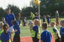 Finalewedstrijd schoolkorfbal bij CKV Achilles in Almelo. FOTO CAROLIEN NIJZINK