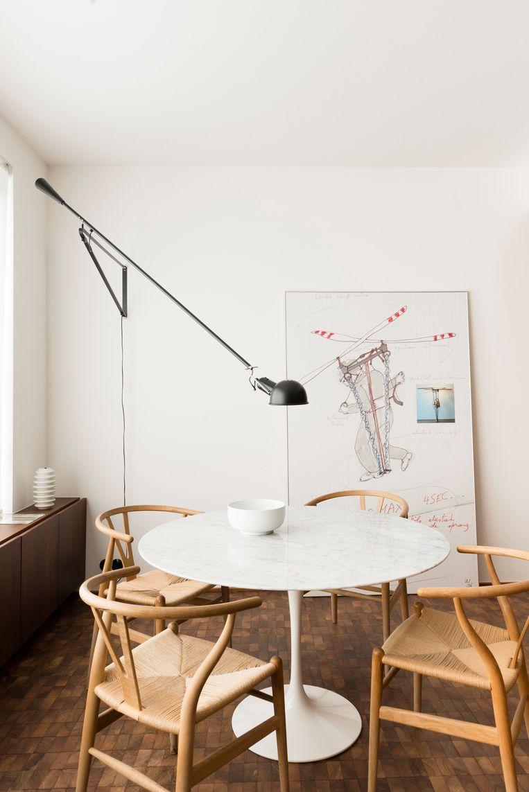 De keukentafel. Beeld Verne