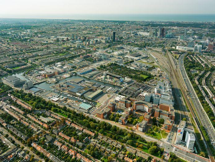 De Binckhorst is nog in aanbouw. Hier moet het nieuwe wonen in Den Haag gestalte krijgen.
