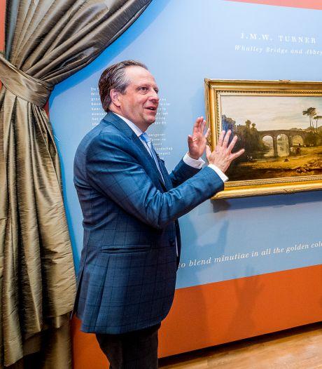 Meesterwerk van wereldberoemde Turner door Pechtold onthuld in Dordrechts Museum