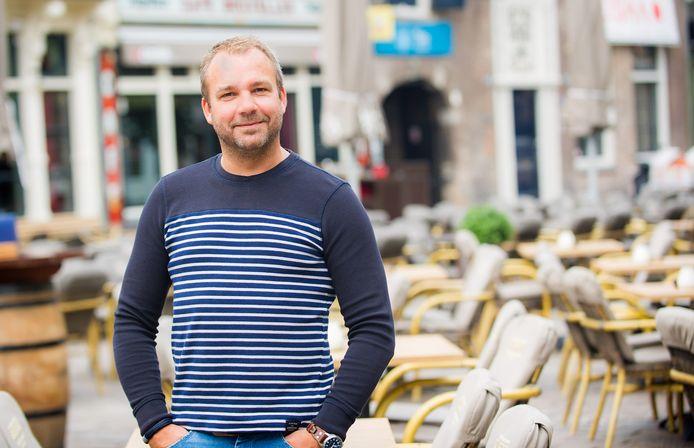 Patrick van Asch, eigenaar van steeds meer horeca-zaken in Breda, met name op en rond de Havermarkt.