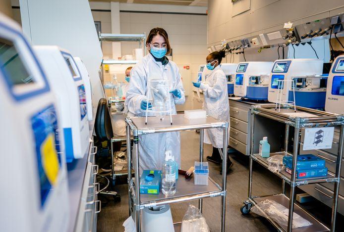 Het hoog volume laboratorium in Rijswijk.
