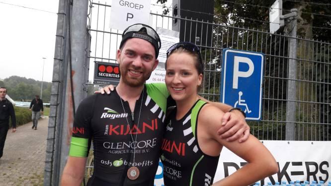 Eerste Fun triatlon in Geldrop een succes: 'Volgend jaar gaan we voor een erkende wedstrijd'