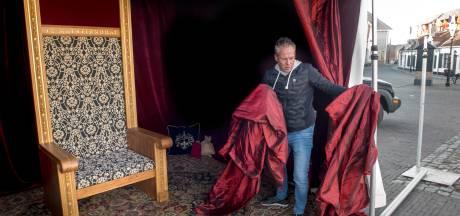 Sinterklaas ziet nieuwe Harderwijkse  haven voor het eerst