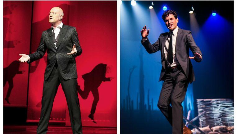 Geert Hoste of Michael Van Peel, wie maakte de beste eindejaarsshow? Beeld Belga/Bas Bogaerts