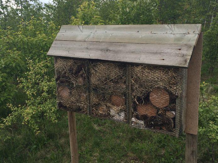 Een ander insectenhotel in Park Meerland.