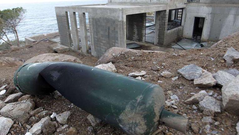 Aanvallen in op huizen in Corsica vorig jaar Beeld afp