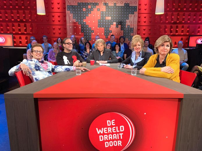 De TV Kantine persifleert De Wereld Draait Door