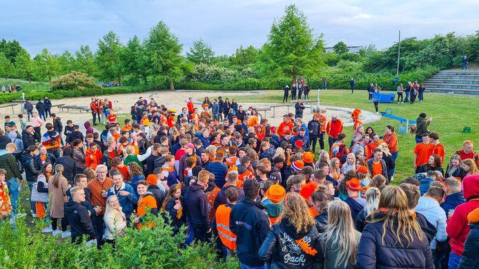 Nijkerk viert opnieuw feest na overwinning Oranje.