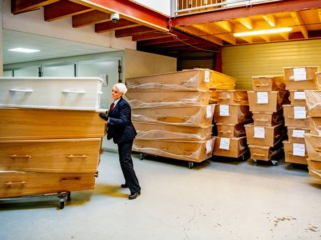 Hamsterwoede in uitvaartwereld vanwege corona: 'Ondernemers vrezen tekort aan kisten'