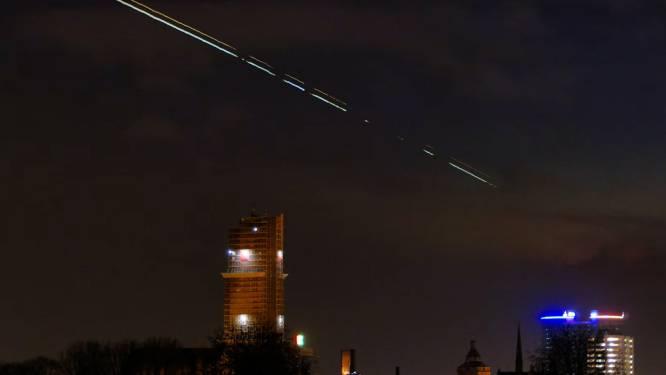 Wauw! Utrechter Frederik maakt adembenemende video van Jupiter en Saturnus boven de Domtoren