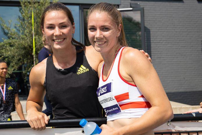 Emma en Hanneke Oosterwegel gaan allebei naar de Olympische Spelen van Tokio.