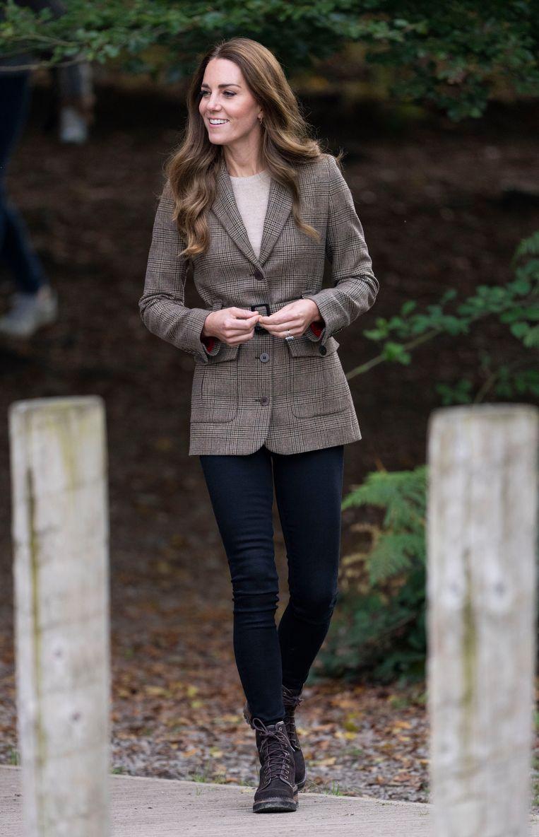 Kate Middleton in skinny jeans. Beeld BrunoPress/goffphotos