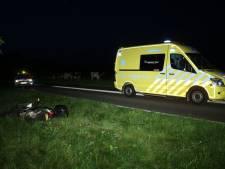 Motorrijder met spoed naar ziekenhuis na aanrijding in Losser