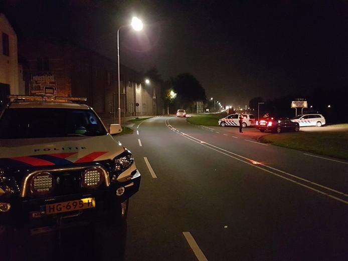 Controles door de politie in Zeeuws-Vlaanderen