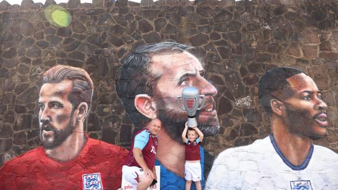 Fotoserie | Engeland in de ban van eerste finale sinds 1966