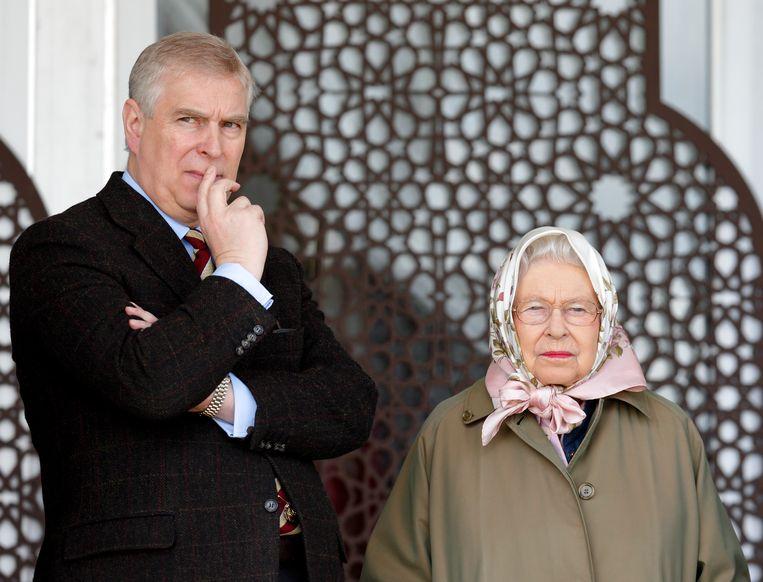 Prins Andrew is het derde kind van de Queen. 'Elizabeth is eerst koningin, en dan pas moeder.' Beeld Getty Images