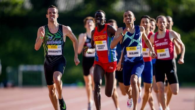 Ismael Debjani verbetert eigen Belgisch record op 1.500 meter en plaatst zich voor Tokio