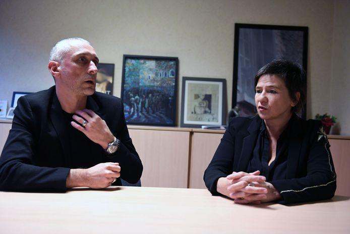 Bert Vermeulen en Hilde Guffens, directeurs hulpgevangenis in Leuven