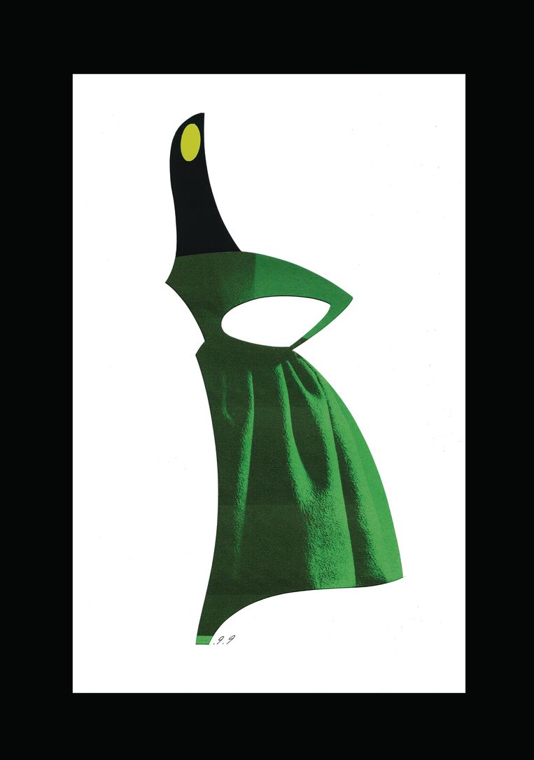 Green silhouette. Beeld Piet Paris