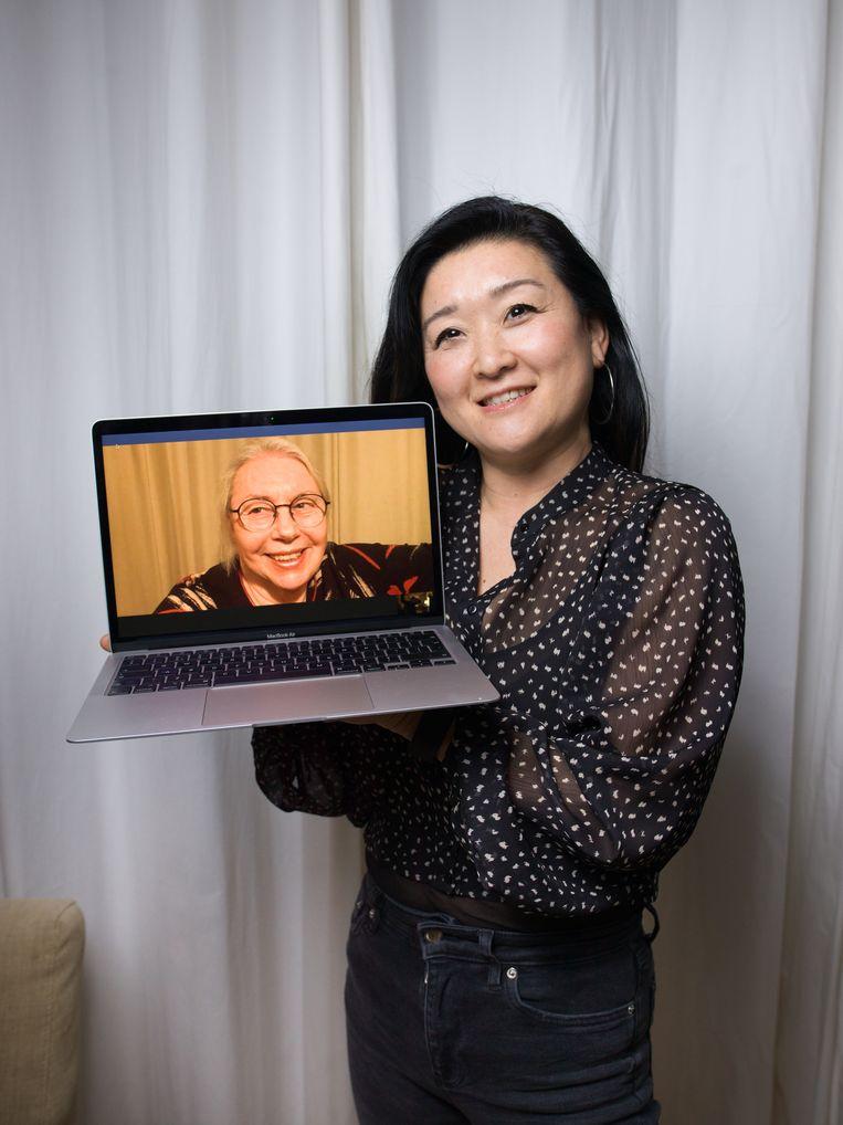 Kim Wind met haar moeder Gerda: 'Ik heb nooit getwijfeld aan de procedure rondom Kim.' Beeld Ivo van der Bent