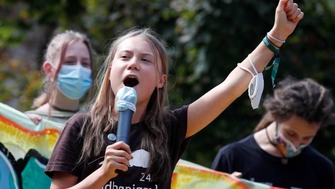 """Greta Thunberg verklaart in aanloop naar klimaattop: """"Verandering komt niet van conferenties"""""""