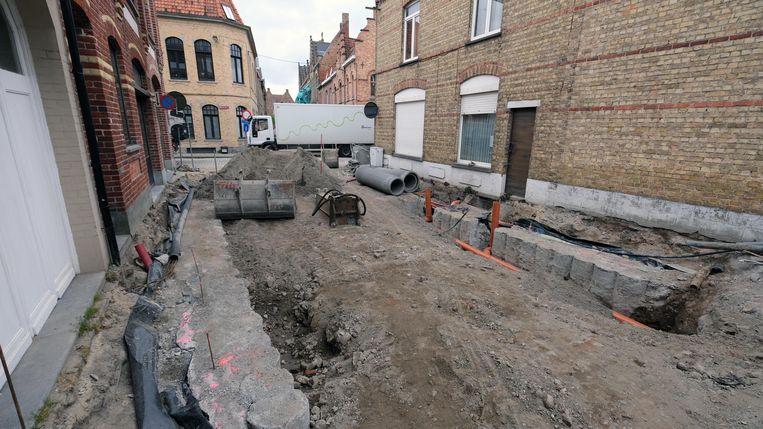Kruispunt Onze-Lieve-Vrouwestraat en Dehaernestraat afgesloten voor rioleringswerken