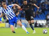 City na voorsprong van 2-0 onderuit bij laagvlieger Brighton & Hove Albion