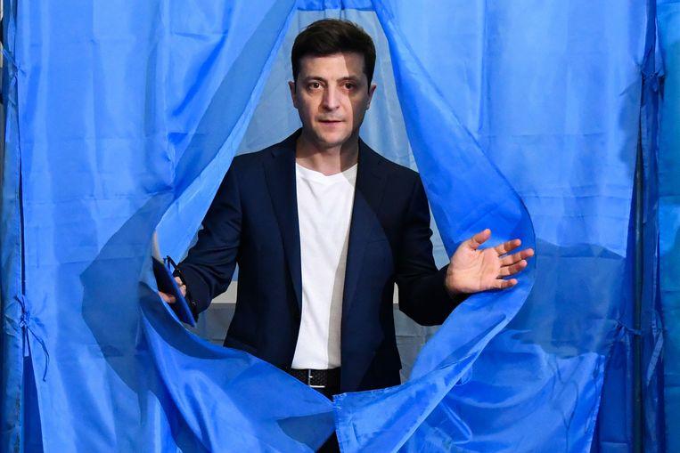 Volodymyr Zelenski. Beeld AFP