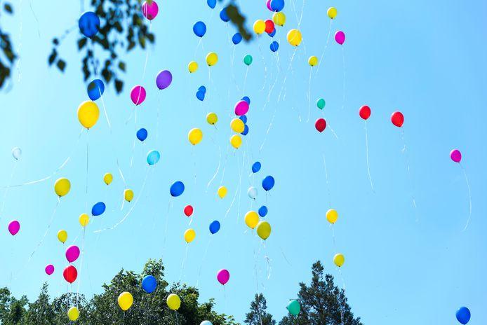 Dalfsen werkt aan een verbod op het oplaten van ballonnen. Dat levert te veel milieuschade op.