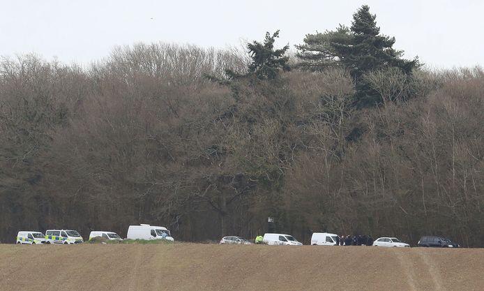 Des restes humains ont été découverts à Ashford, à environ 90 km au sud de Londres.
