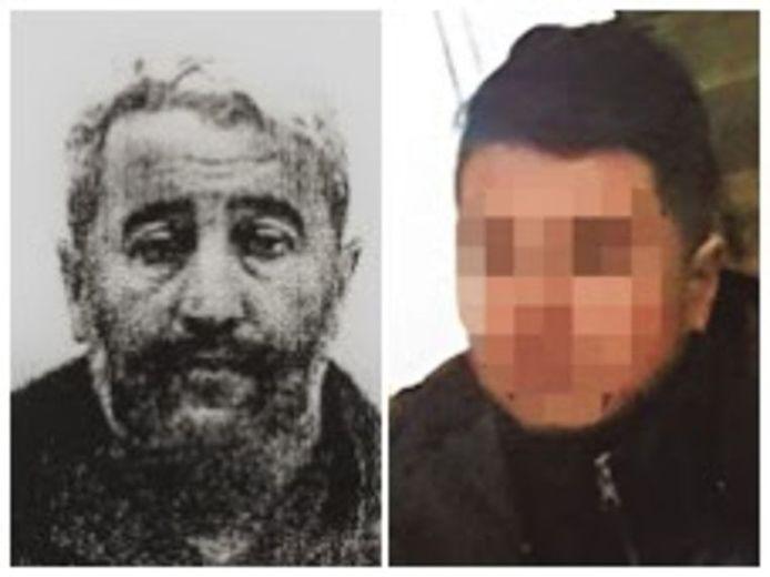 De ontvoerde slachtoffers Abdelkader Bouker en Younes El B.