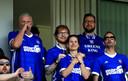 Ed Sheeran en z'n vrouw Cherry zijn grote voetbalfans.