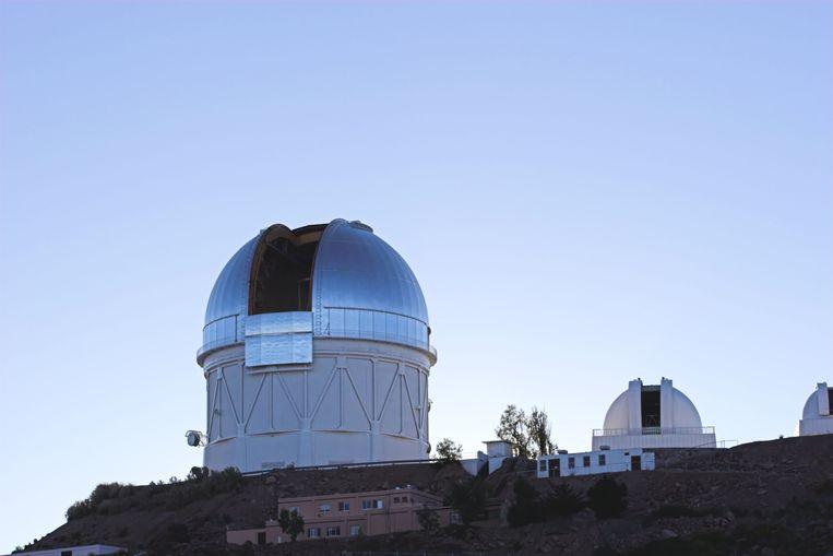 Telescoop op grote hoogte.  Beeld Alamy Stock Photo
