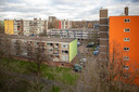 De Schiedamse wijk Groenoord kent veel dezelfde flats.
