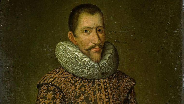 Anoniem portret van Jan Pieterszoon Coen als gouverneur-generaal van de VOC in Nederlands-Indië Beeld Rijksmuseum