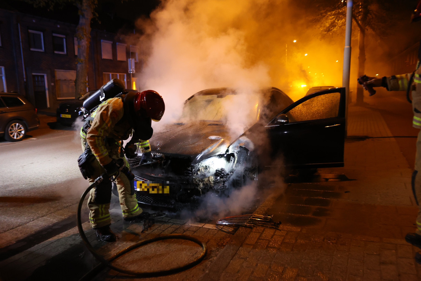 Brand in de Zeelsterstraat in Eindhoven.