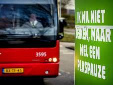 Bussen staken eerste twee dagen meivakantie