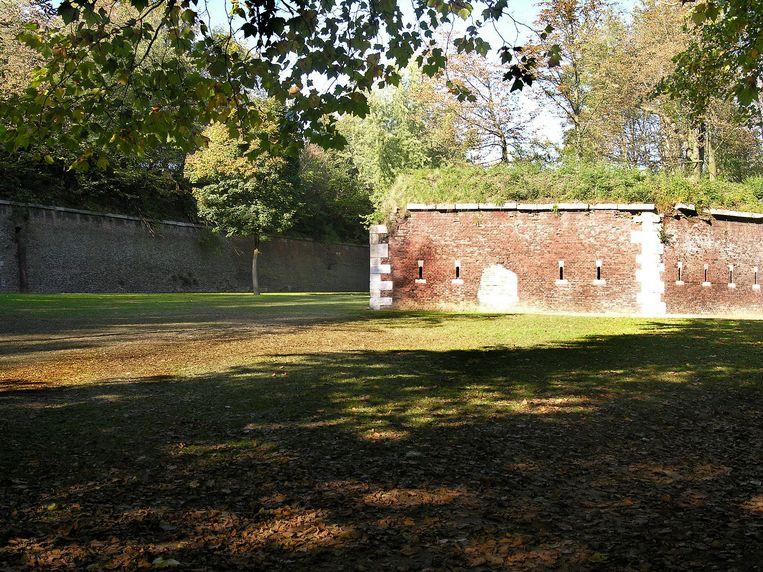 De citadel van Luik. Beeld Wikipedia Commons