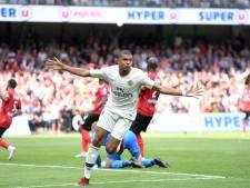 Mbappé goud waard bij zege PSG op Guingamp, Monaco verliest