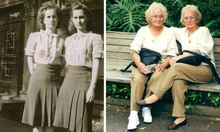 Deze 100-jarige tweeling is nog nooit uit elkaar geweest