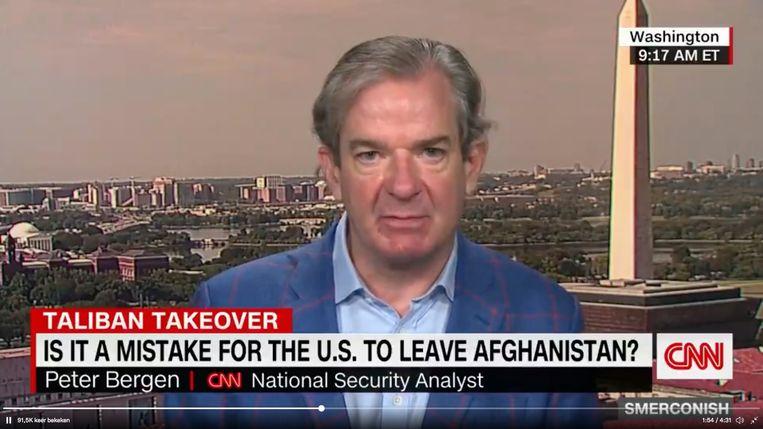 Peter Bergen Beeld CNN