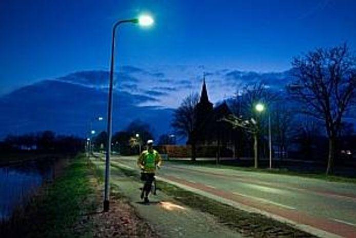 Lantaarns met led geven feller licht en vergroten de veiligheid op straat.