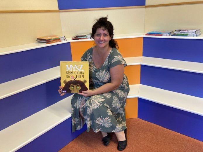 Anna Karkut gaat voorlezen in het Pools in bibliotheek Someren.